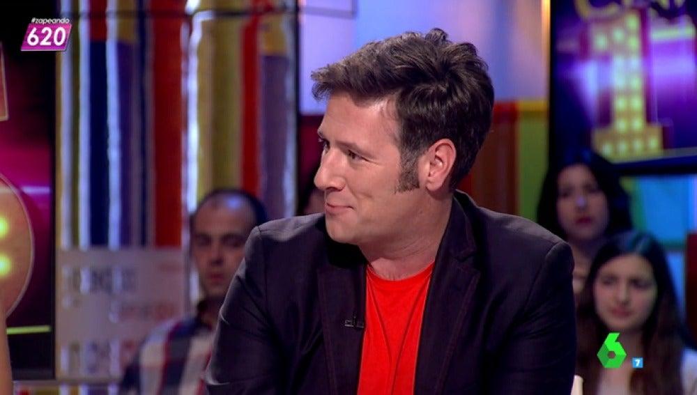 Carlos Latre imita a Tamara falcó en Zapeando