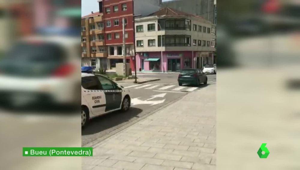 Persecución en Pontevedra