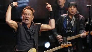 Bruce Springsteen en el estadio de Anoeta de San Sebastián
