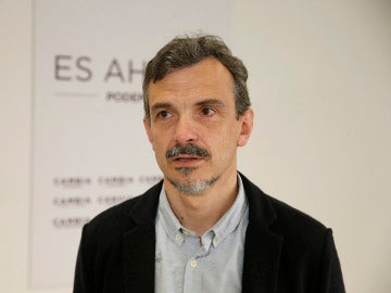 El portavoz de Podemos en la Asamblea, José Manuel López