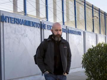 Josep Garganté, concejal de la CUP en el Ayuntamiento de Barcelona