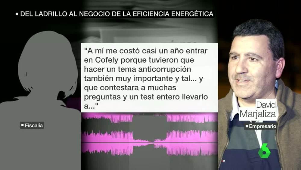 Declaración de Marjaliza ante el juez hablando de Cofely
