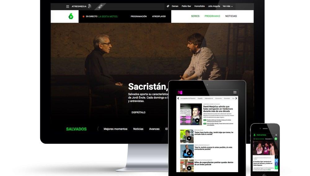 Así es la nueva web de laSexta