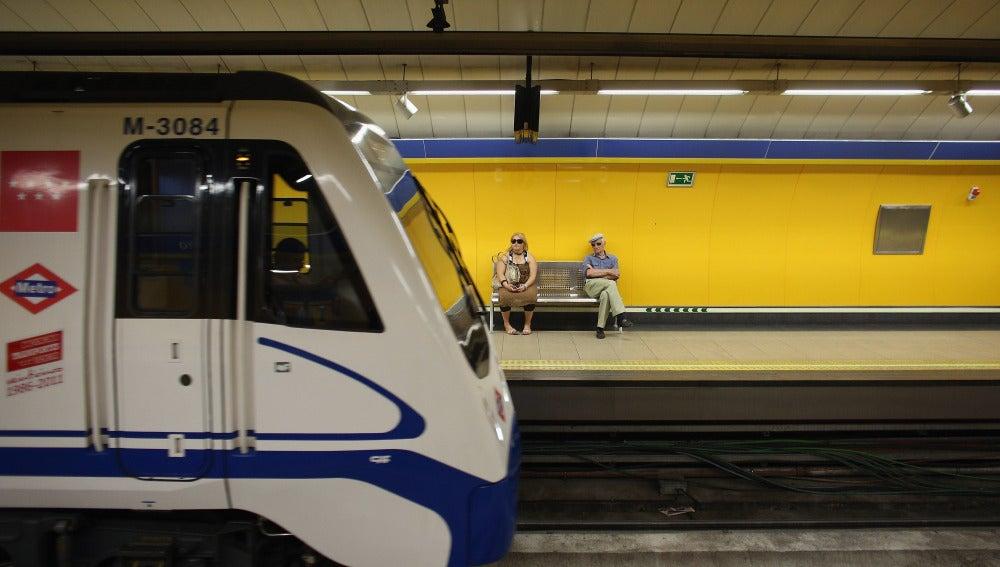 Una de las estaciones del Metro de Madrid