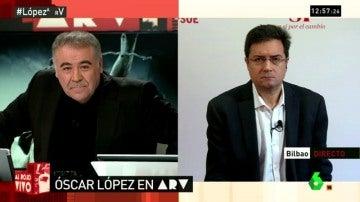 Óscar López en ARV