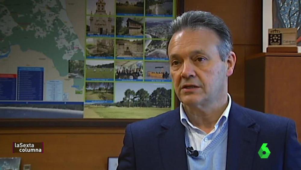Germán Castrillón, alcalde de Cabanas