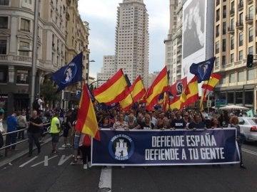 Manifestación de Hogar Social Madrid por las calles de la capital