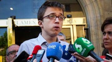 """Errejón, tras el 'no' de Anguita a pertenecer a la lista de Unidos Podemos por Córdoba: """"Siempre será un militante del cambio"""""""