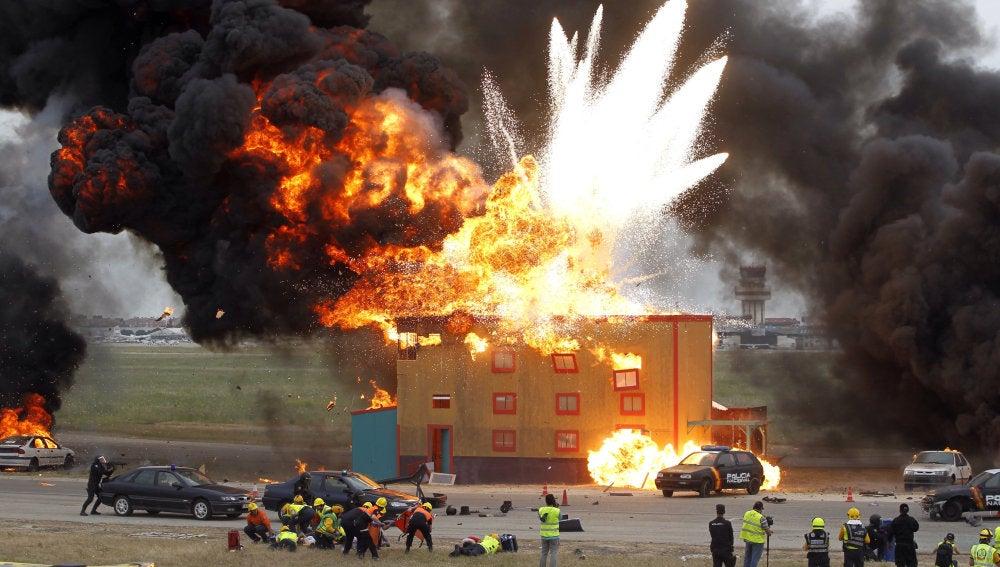 Casi 700 efectivos de toda España realizan un simulacro de atentado terrorista