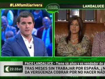 Albert Rivera y la familia Landaluce Casasaltas