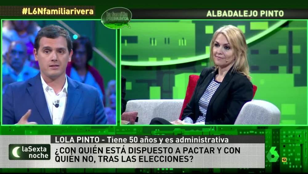Albert Rivera, en 'La familia pregunta'