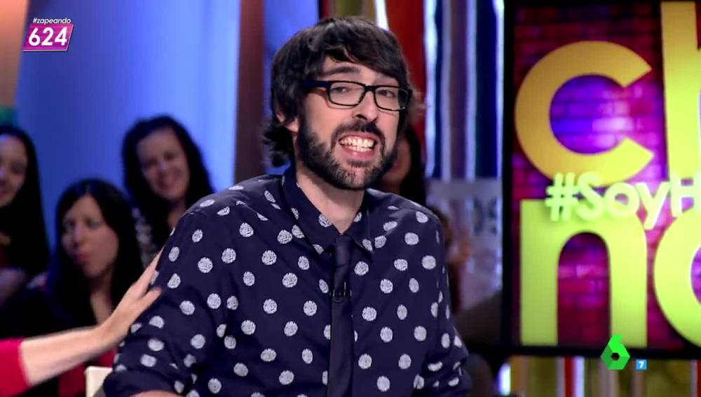 "la sexta tv | el zasca de chenoa a quique peinado: ""yo te veo"