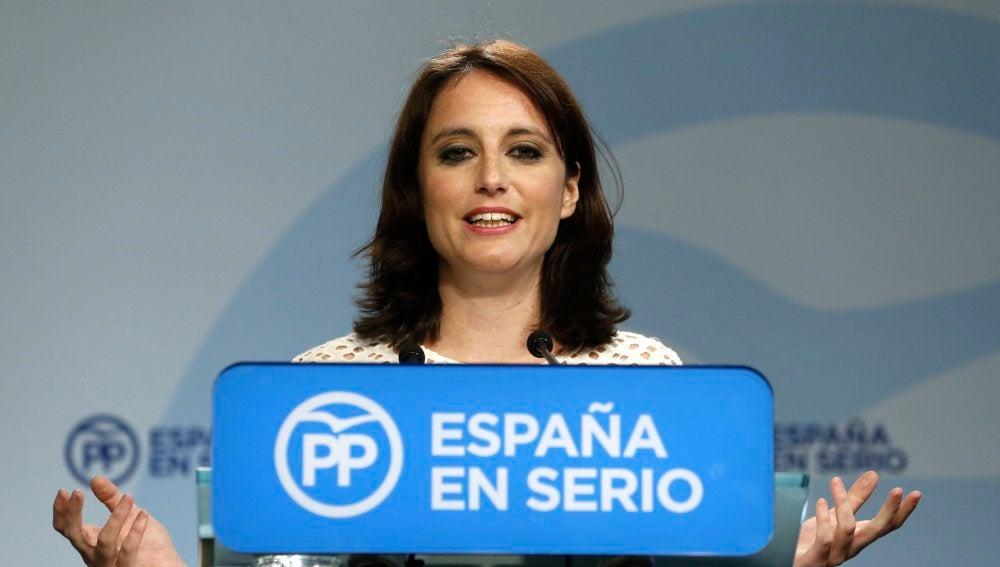 Andrea Levy, vicesecretaria de Programas y Estudios del PP
