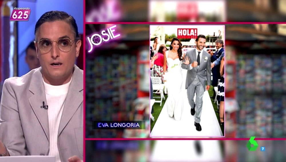 "Frame 72.044764 de: Josie y la ""boda tan maravillosamente hortera"" de Eva Longoria"