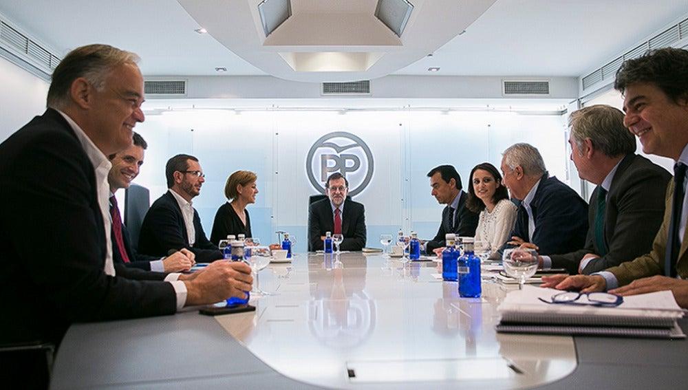 Reunión del comité de dirección del PP