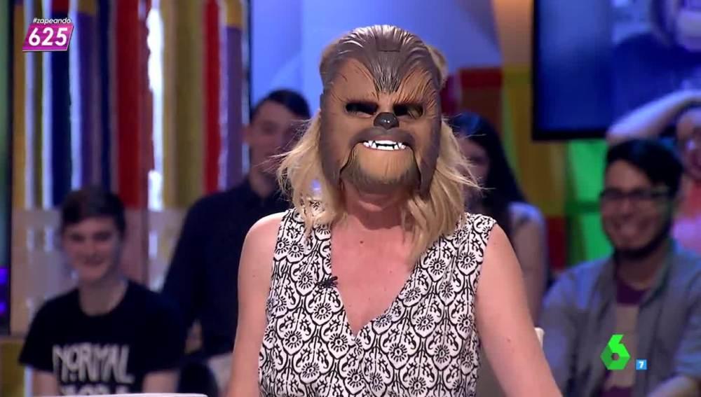 Anna Simon, la Chewbacca de Mollet