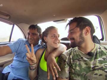 Marta y Giorgi, de camino a la meta