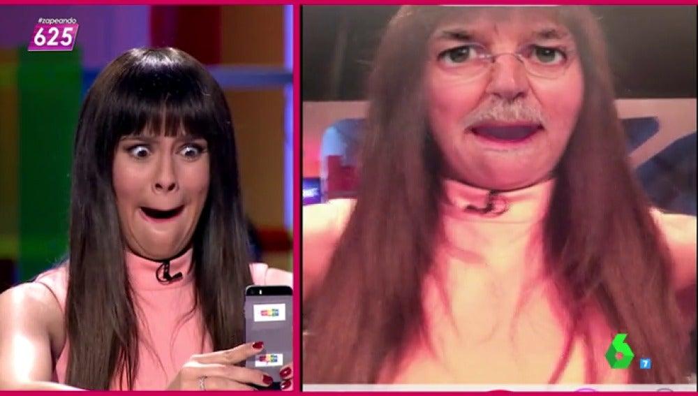 Cristina Pedroche imita a Rajoy