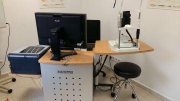 Equipo de OCT en el Laboratorio de la Ví