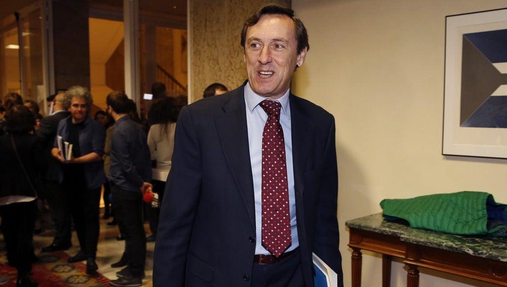 Rafael Hernando en una imagen de archivo