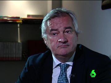 Ignacio Peláez, abogado de Mario Conde