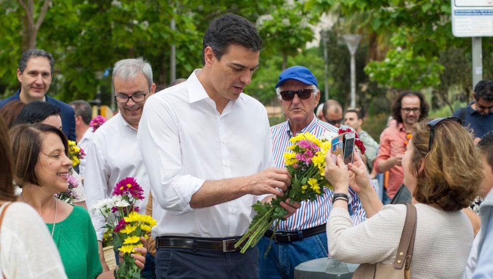 """Pedro Sánchez: """"El precio por el chantaje de Iglesias no puede ser que siga Rajoy"""""""