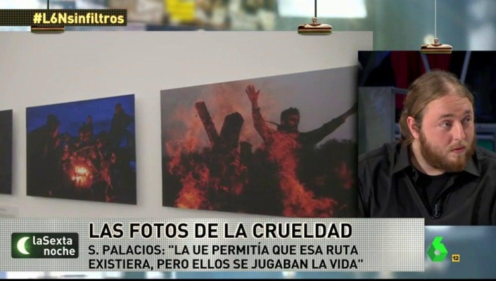 """Frame 91.65696 de: Santi Palacios, fotógrafo en Idomeni: """"He visto desde bebés muertos a padres destrozados"""""""