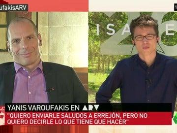 Varoufakis y Errejón