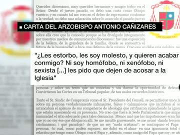 Carta del cardenal Cañizares