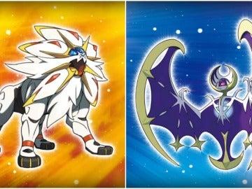 Solgaleo y Lunala, nuevos pokémons legendarios