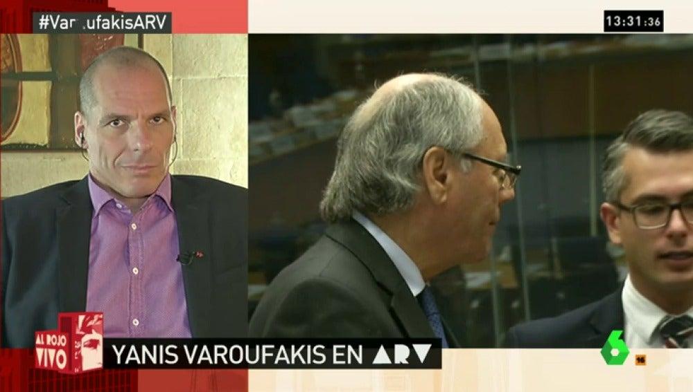 Yanis Varoufakis en ARV