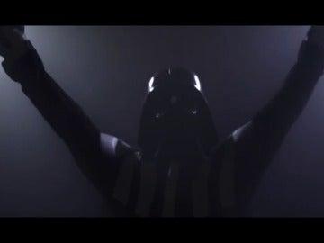 Frame 33.688923 de: 'El 26 de junio toca Round Two', Podemos convierte a Darth Vader en Rocky Balboa en su nuevo vídeo preelectoral