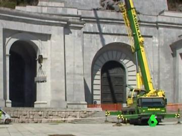 Obras en el Valle de los Caídos
