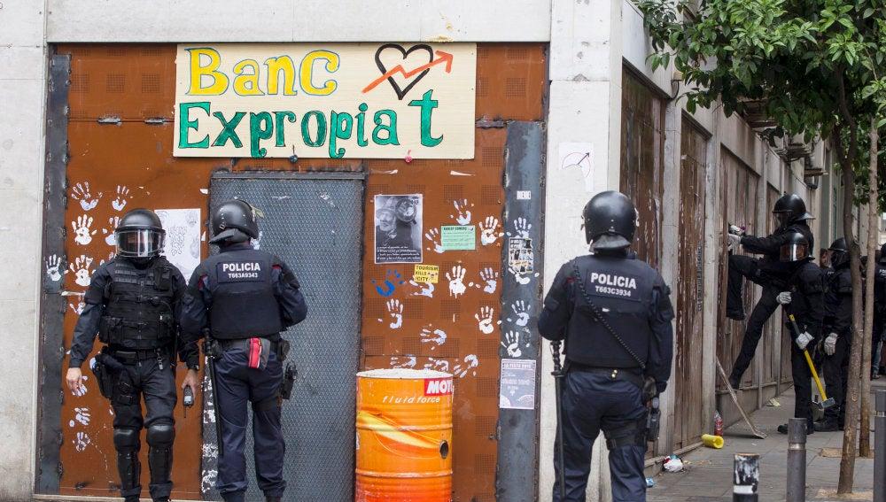 """Vuelven a desalojar el 'Banco Expropiado"""""""