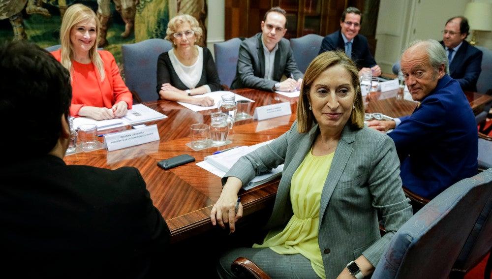 Reunión del plan de Chamartín