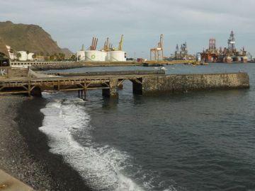Muelle de Valleseco, en Santa Cruz de Tenerife