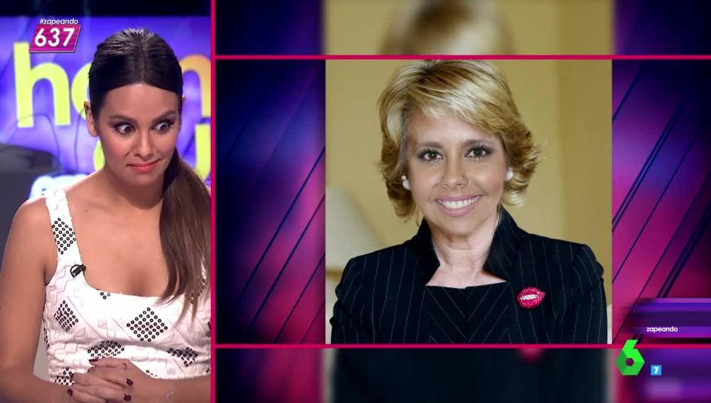 Pedroche 'copia' el look de Esperanza Aguirre