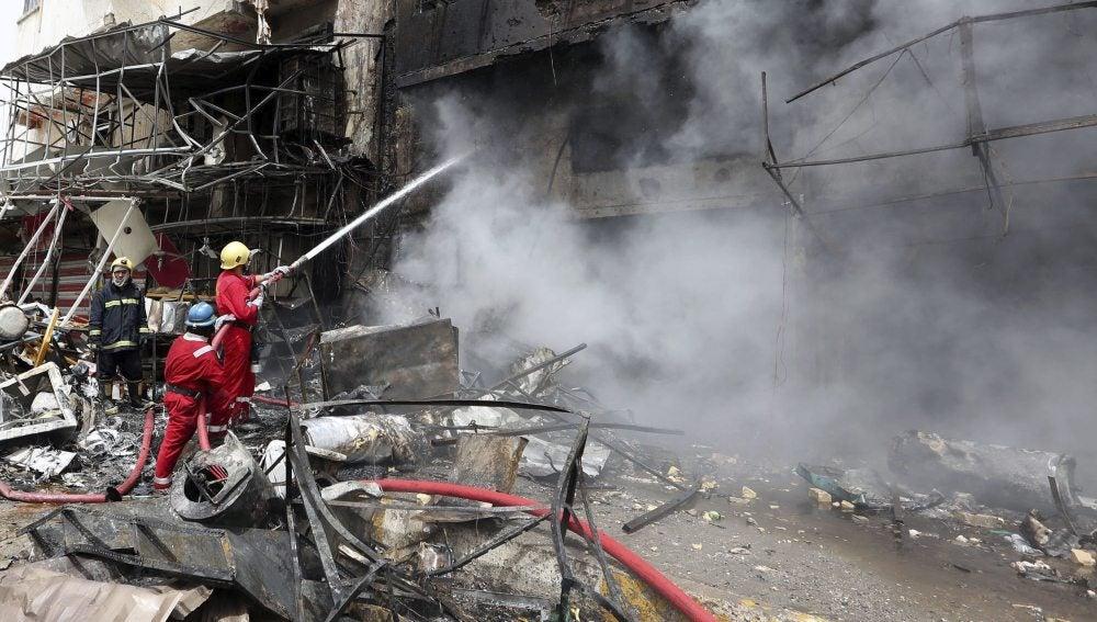 Ataque terrorista en Bagdad