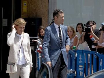 Infanta Cristina y Urdangarin