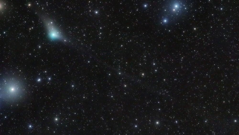 El cometa C/2013 X1 PanSTARRS fotografiado el pasado 18 de mayo