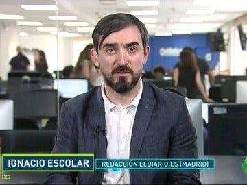"""Frame 13.901487 de: Ignacio Escolar: """"David de Gea ofreció por WhatsApp a la testigo protegida contratarla para otros jugadores"""""""