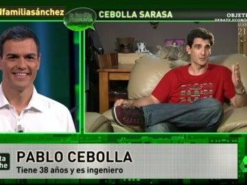 Pablo Cebolla, a Pedro Sánchez