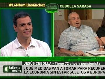Jesús cebolla pregunta a Pedro Sánchez