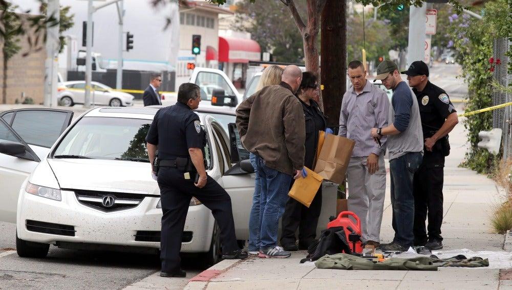 El sospechoso iba armado y se dirigía a al festival del Orgullo Gay de Los Ángeles
