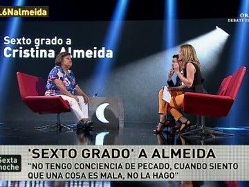 Sexto grado a Cristina Almeida
