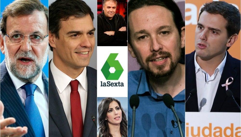 Cobertura laSexta debate a cuatro