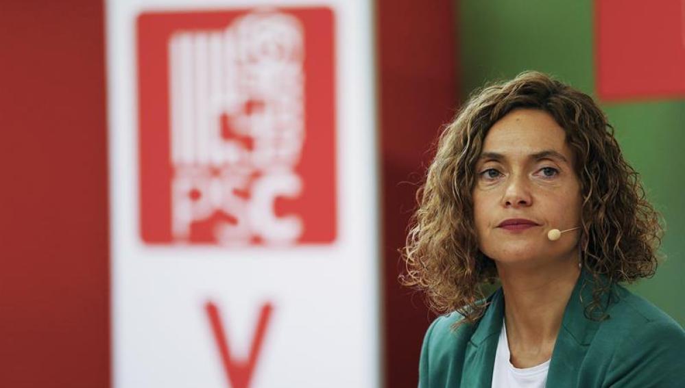 La secretaria de Estudios y Programas del PSOE
