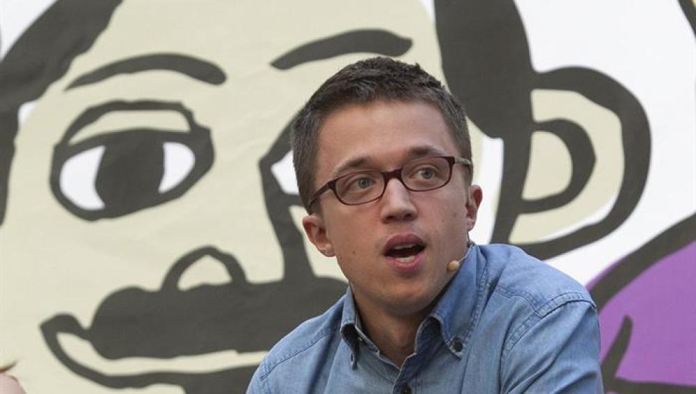 El número dos de Podemos, Íñigo Errejón