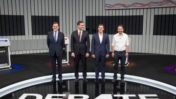 Candidatos debate 13J