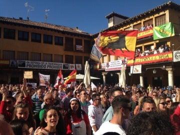 Manifestación a favor del Toro de la Vega